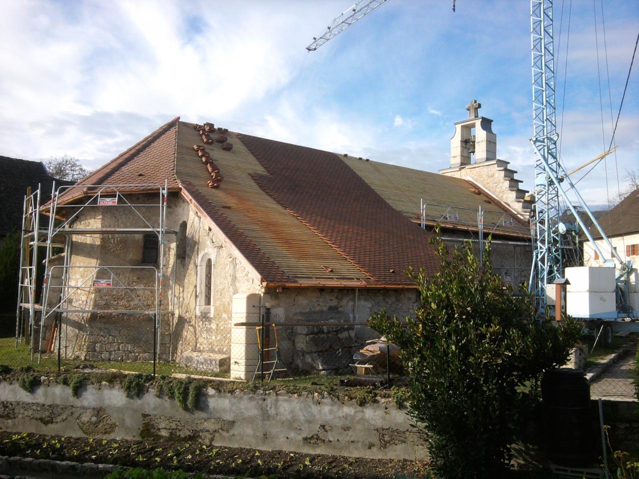 Chapelle de Chemilleu à Nattages