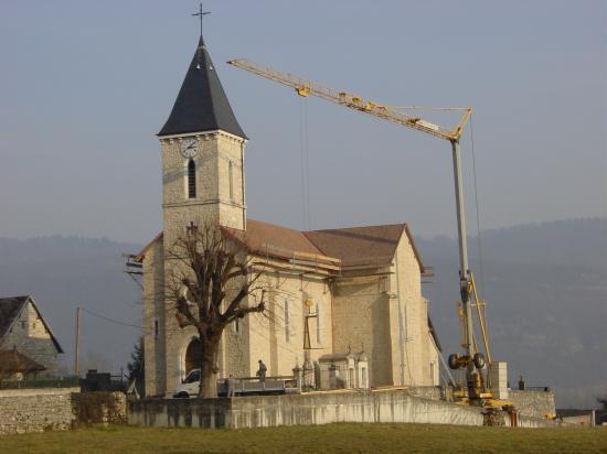 Eglise de Cressin Rochefort
