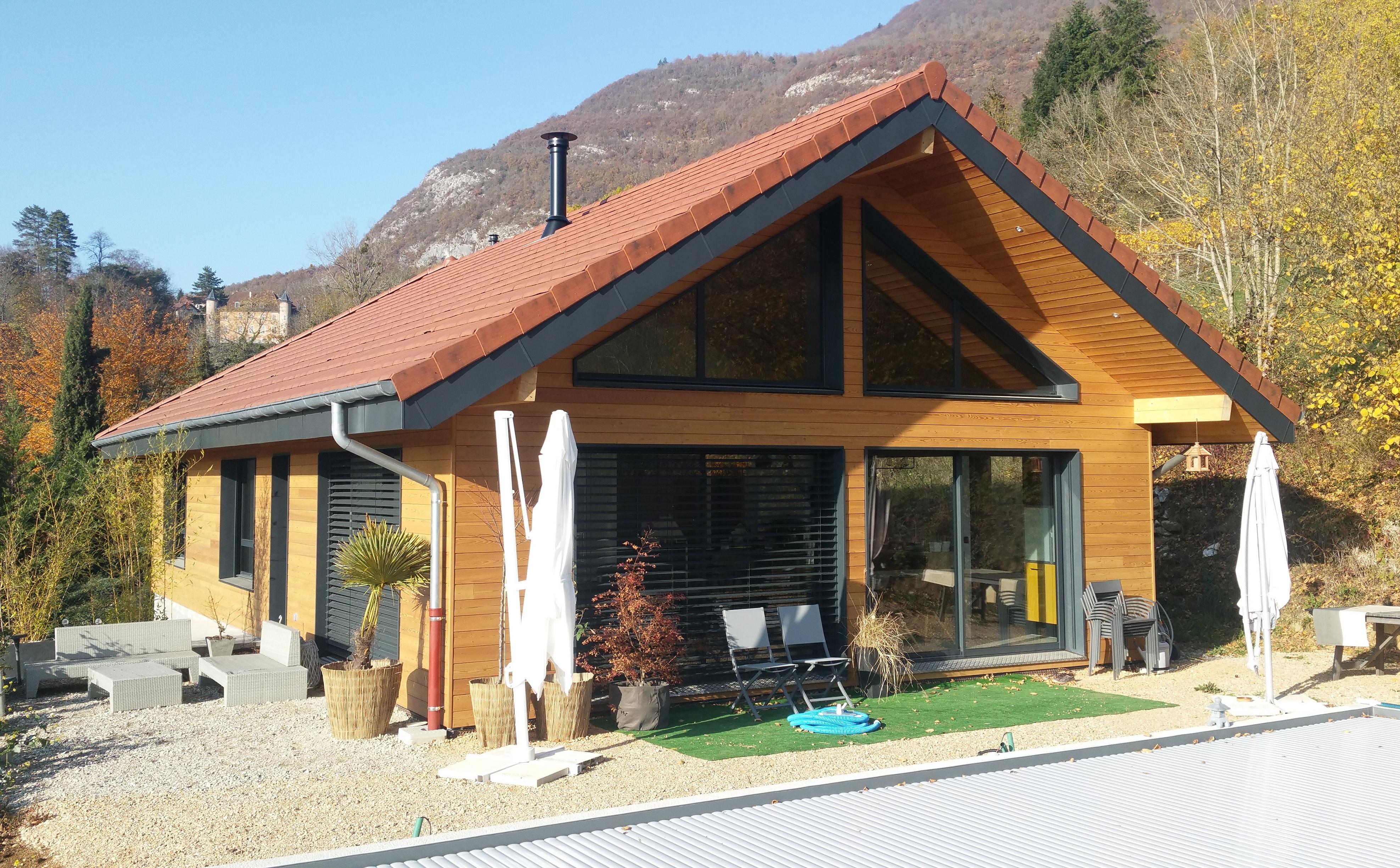 Maison à ossature bois (73) Savoie