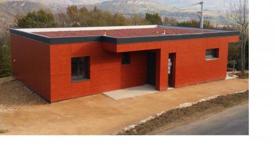 Maison à ossature bois à Nattages (01)