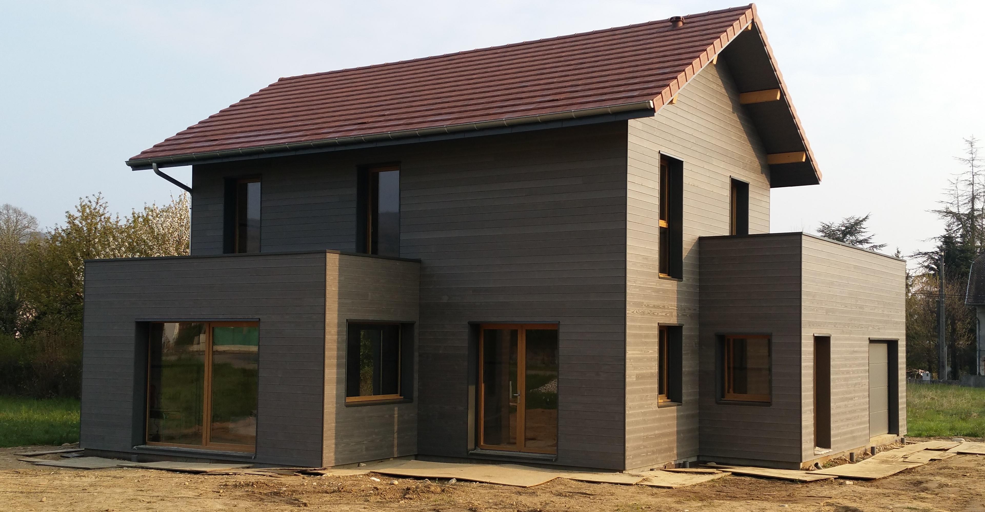 Maison à ossature bois à Yenne (73) Savoie
