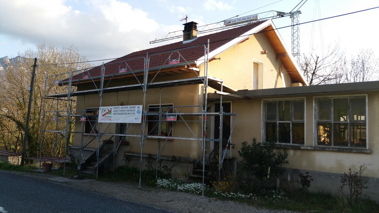 Réfection de toiture à Billième