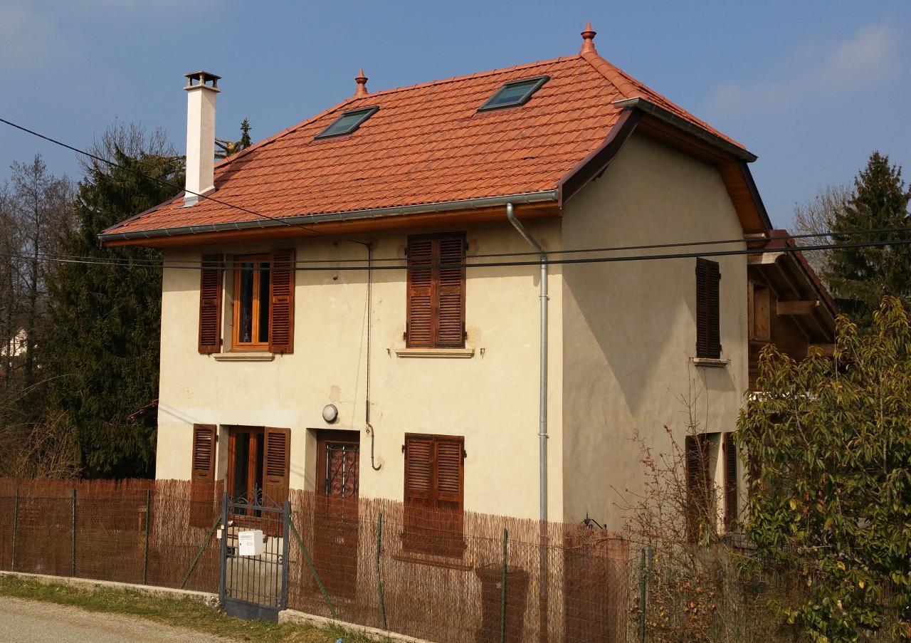 Réfection de toiture à Novalaise