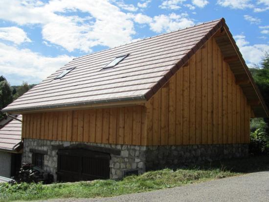 Surélévation d'une maison à Massignieu-de-Rives (3)
