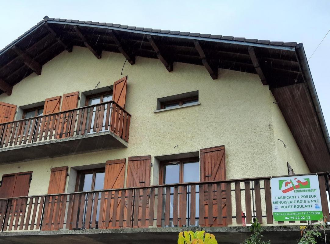 Changement fenêtres et porte-fenêtres en PVC à Traize Savoie 73