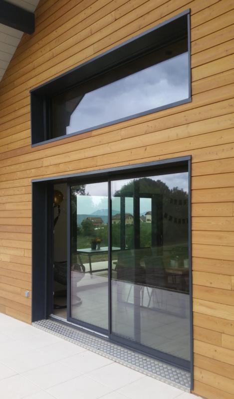 Coulissant PVC iSlide neo Deceuninck fabrication pose COUTURIER Savoie 73