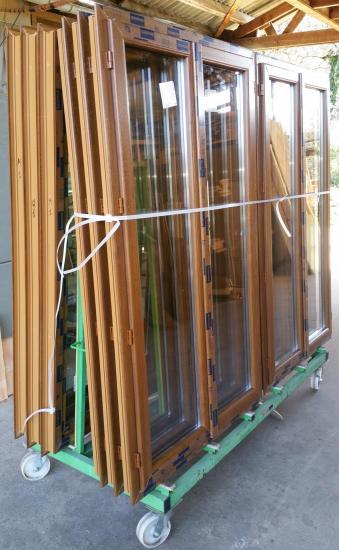 Fabrication de menuiserie PVC