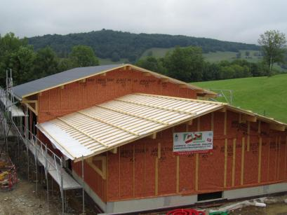 Atelier technique communal à Curienne (Savoie 73)