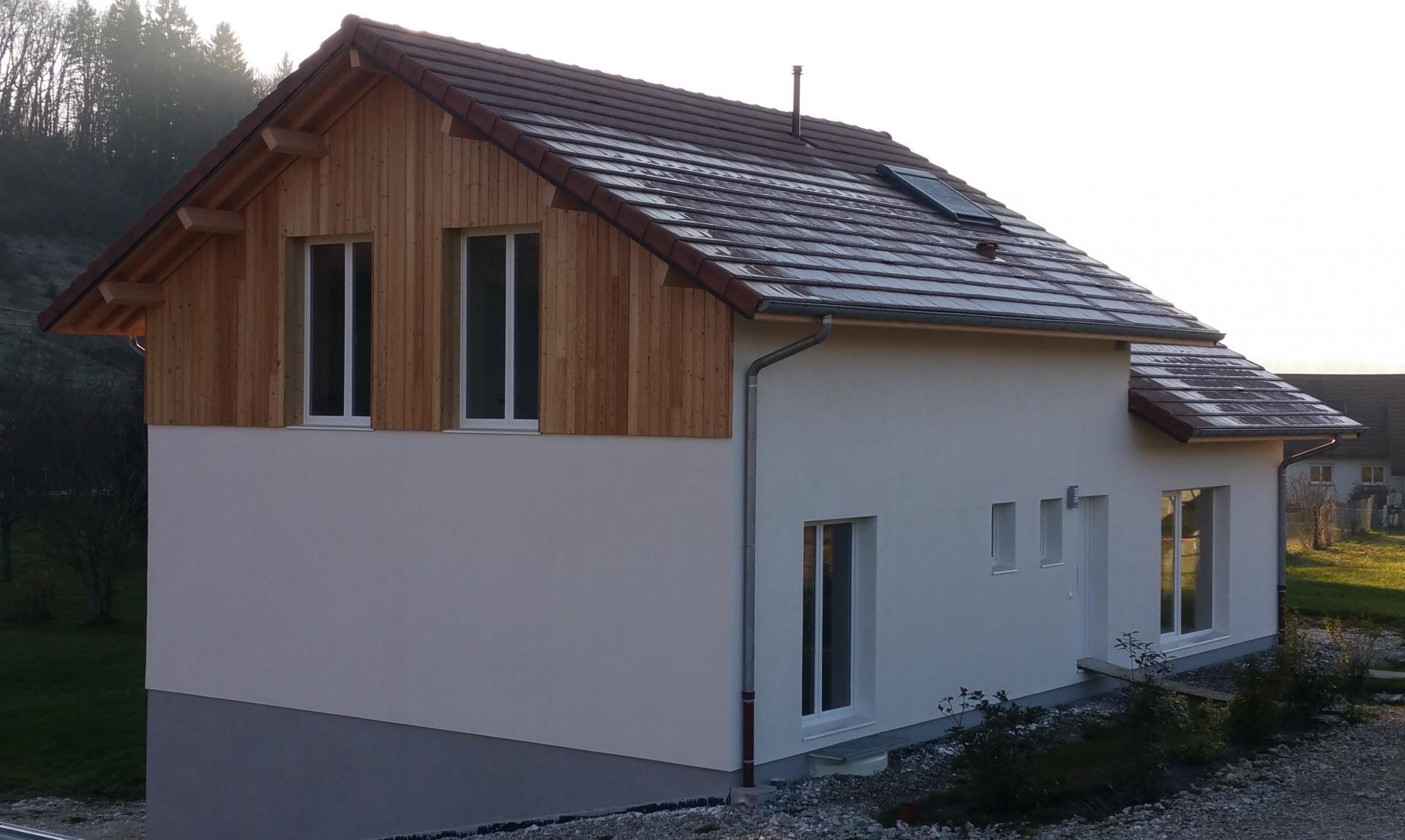 Fabricant Maison Ossature Bois - Fabricant de maisonsà ossature boisà Yenne (73)