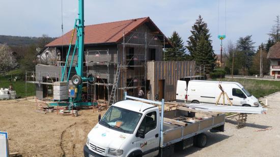 Maison à ossature bois à Yenne (73)
